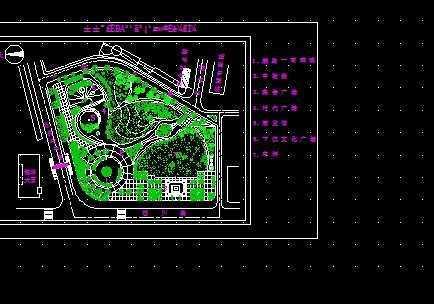 广场规划设计图纸1免费下载 - 园林建筑及相关 - 土木