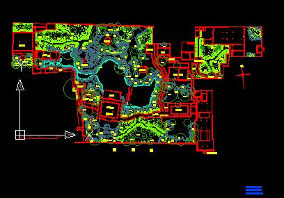 园林景观设计平面图