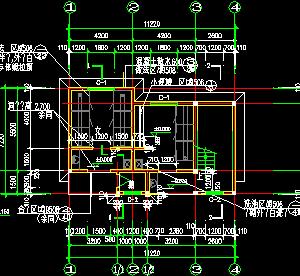 公共厕所建筑设计图纸
