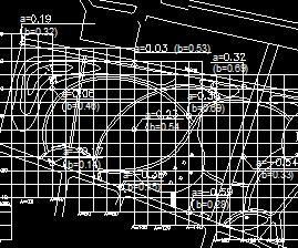 某小区土建框架设计图纸