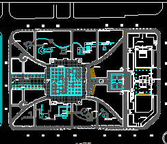 某广场建筑设计图纸