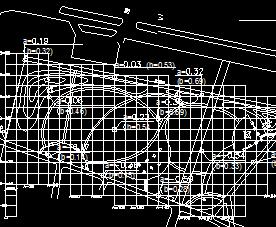 某公园土建框架施工图纸