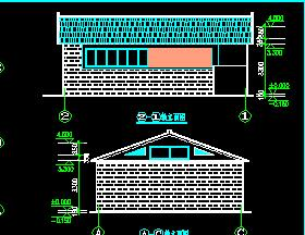单层砖混结构公厕澳门威利斯人赌博澳门威利斯赌场图纸