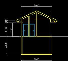 某度假区管理房建筑设计图纸