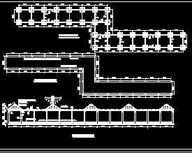 现代花架长廊园林施工图纸