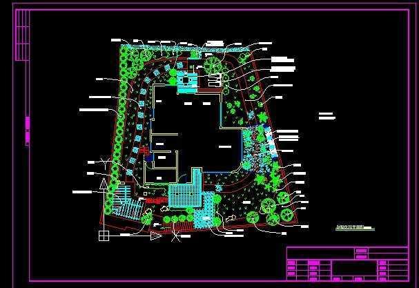 别墅花园设计平面图