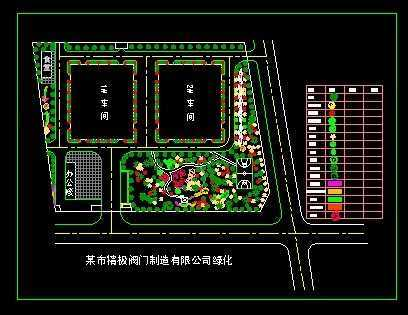 厂区总平面设计图