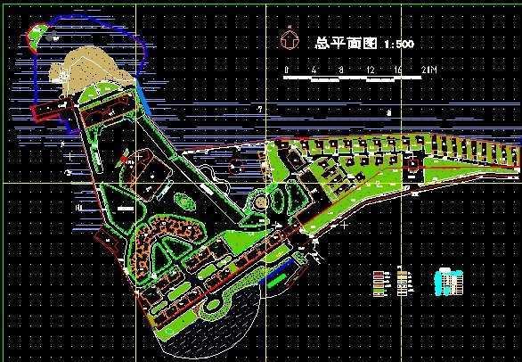 广厦海滨城总平面图
