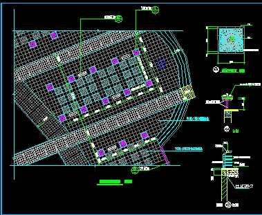 某城市中心广场规划设计图