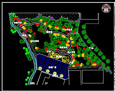 文化公园施工图