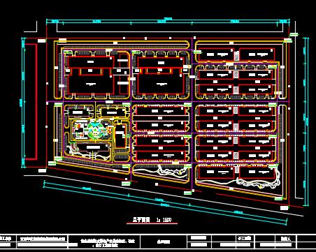 特色产业基地绿化、硬化、路灯工程施工图纸
