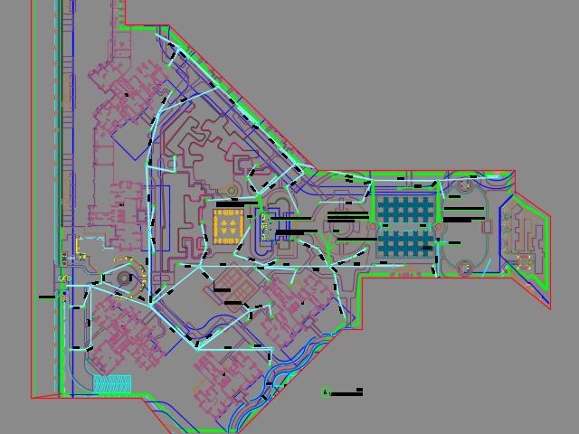 某住宅区园林景观施工图