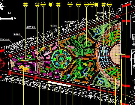某地广场综合景观设计施工图