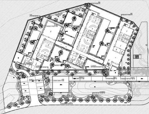 幼儿园景观工程绿化施工图纸