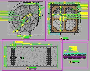 城市综合体园林景观工程全套施工图纸