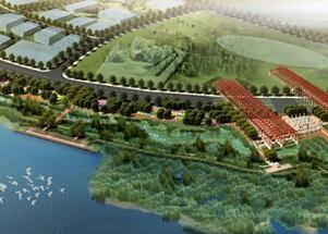 生态修复河滩湿地公园景观施工图纸