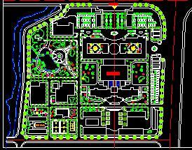 某医院环境绿化施工图纸