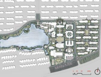 健康生态产业园景观全套施工图纸及方案文本