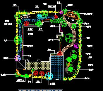 别墅别墅造景花园布置规划图免费下载上海平面婚礼选地图片