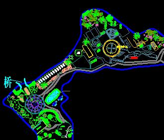 某公园绿化工程规划图