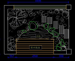 屋顶花园及庭院景观工程全套图纸