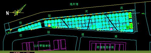 校园绿地改造景观设计方案图