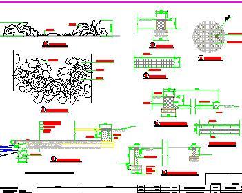 住宅小区环境景观全套施工图纸(含结构景观暖通)