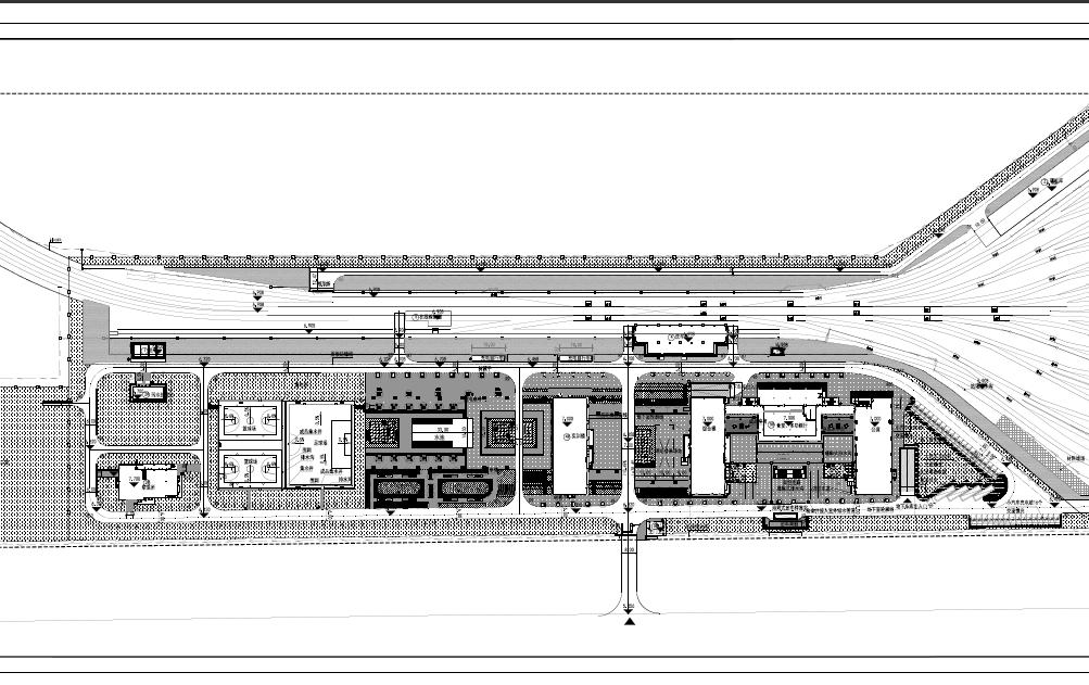 公共停车场景观绿化施工图纸(PDF格式)