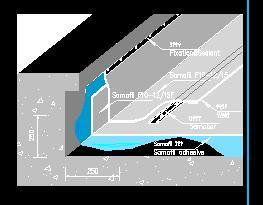 暴露式屋面防水施工图纸