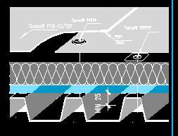 某暴露式屋面防水施工图
