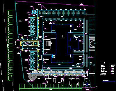 园林建筑景观照明系统设计图纸合集