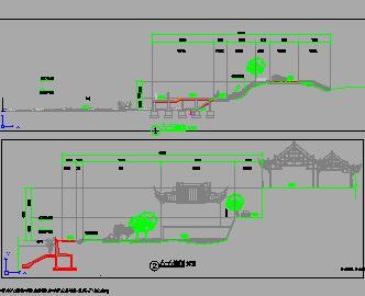 水系综合整治工程闸坝河滩整治施工图纸(含清单)