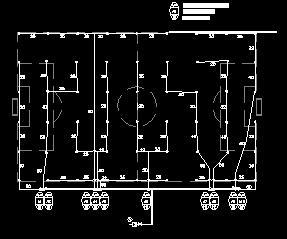 足球场喷灌布置设计图纸