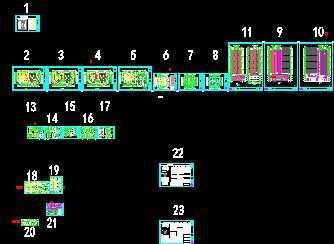 带地下室高层商住楼建筑结构设计图纸
