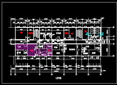 某三层框架结构办公楼工程综合实例