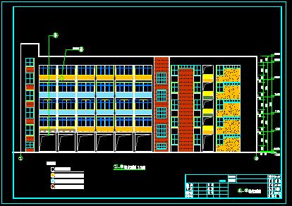 小学综合楼土建及安装工程清单报价书(全套CAD图纸)