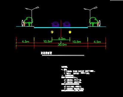 市政道路及配套工程投资估算及经济效益分析实例(全套CAD图纸)