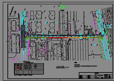 工程给排水图纸预算书(附v工程道路)免费下载-换向阀手动图纸图片