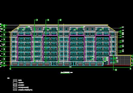 6层框架结构住宅楼建筑工程预算书(含工程量计算、图纸)