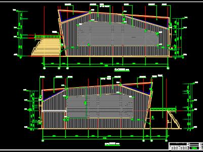 新建钢结构网球馆建筑安装工程结算书(含全套图纸)