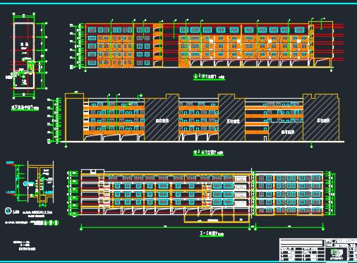 教学楼给排水工程工程量计算实例(含小鱼儿心水主论坛结构水电图纸)