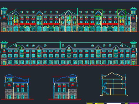 商业楼土建工程广联达预算实例(全套图纸)