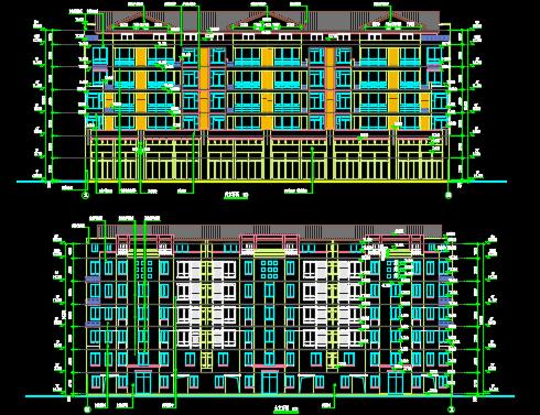 住宅楼建筑安装工程预算书(含建筑水电图纸)