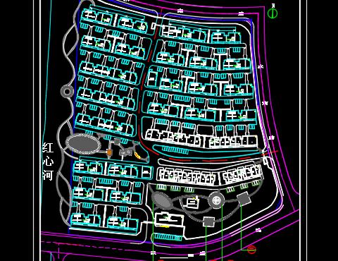 某拆迁安置房小区二期项目建筑土建、桩基及门卫设施工程量清单预算(图纸 )