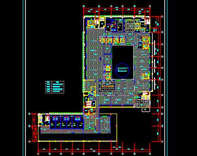 8层商务楼室内装饰工程结算书(图纸)