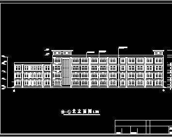 教学楼建筑工程量计算及预算实例(含图)