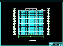 15层框剪结构住宅楼毕业设计(计算书及图纸)