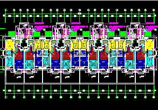 6层住宅楼水电工程计算实例包含图纸计算稿