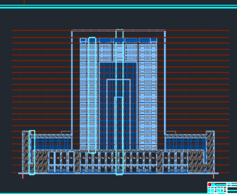 二十二层综合楼工程量计算实例(含工程量清单及图纸)