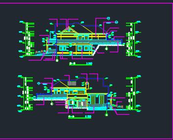 二层框架结构别墅工程量计算书(含图纸及清单)